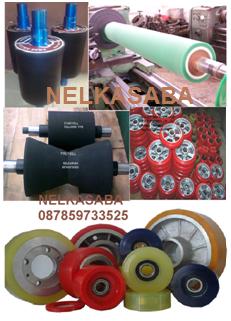RUBBER ROLLER,NELKASABA,Competitif Price Karet roller