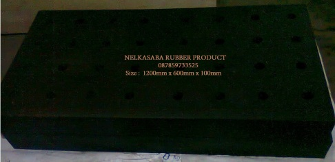 Elastomeric Bearing pad 1200mmx 600mmx100mm